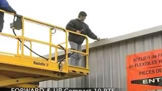 видео Hаulоttе Compact 10, электрический гидравлический ножничный подъемник