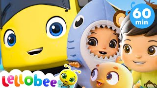 Baby Max Wheels on the Bus More Nursery Rhymes and Kids Songs | ABCs and 123s | Little Baby Bum