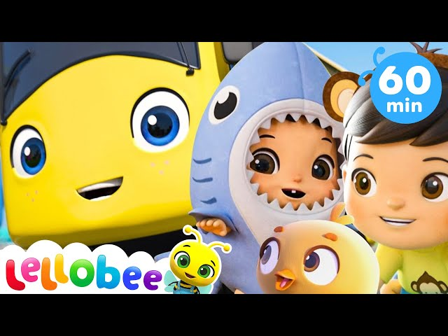 Baby Max Wheels on the Bus +More Nursery Rhymes and Kids Songs | ABCs and 123s | Little Baby Bum