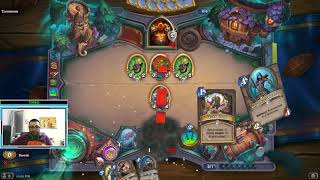 1st EVER ARENA! Hearthstone 12 arena wins + Legend rank without pay for cards Challenge! /BOOMSDAY