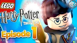 You're A Wizard, Harry! -  LEGO Harry Potter Years 1 - 4 - Part 1 - The Sorcerer's Stone!