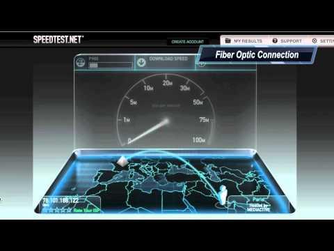 DSL vs 100 Mbps Q-tel Fiber Optic Connection