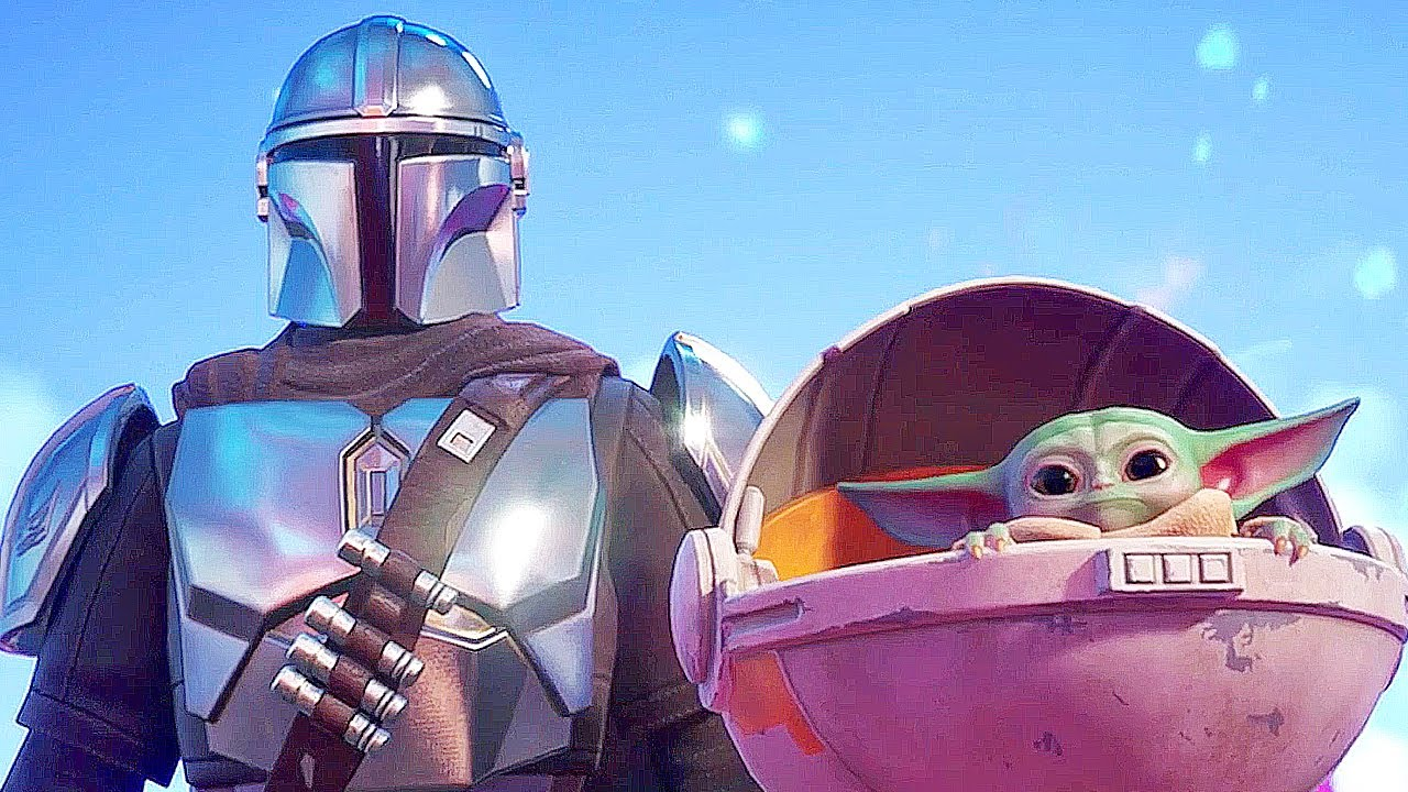 Fortnite Chapter 2: Season 5 adds Baby Yoda and the Mandalorian