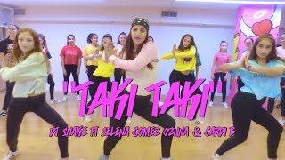 DJ Snake - Taki Taki ft. Selena Gomez, Cardi B, Ozuna - Dance Choreography by Shaked david