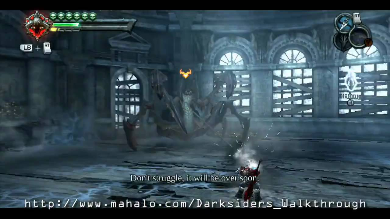 sc 1 st  YouTube & Darksiders Walkthrough - Iron Canopy Boss Fight: Silitha - YouTube