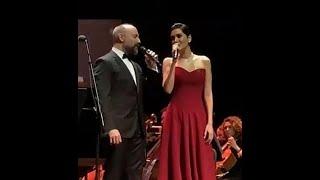 """Halit Ergenc & Berguzar Korel singing  """"Bir Çocuk Sevdim"""" (07.01.2019)"""