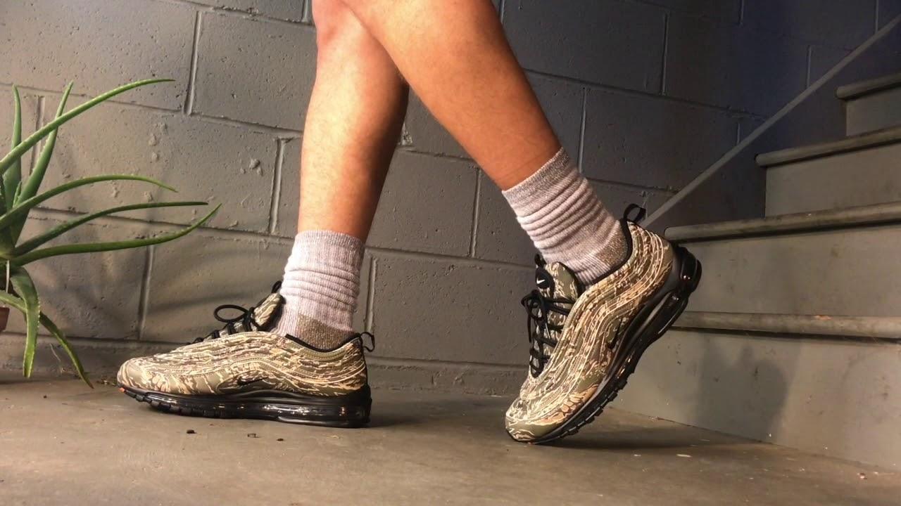 49917b9206b Nike Air Max 97 Camo USA - On Feet