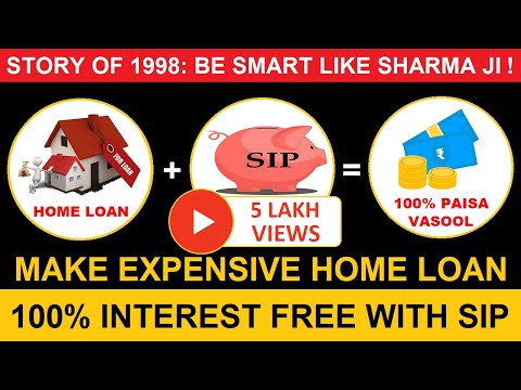 SIP   | SIP of Only 1,000 Can Make Your Expensive Home Loan 100% Interest Free!
