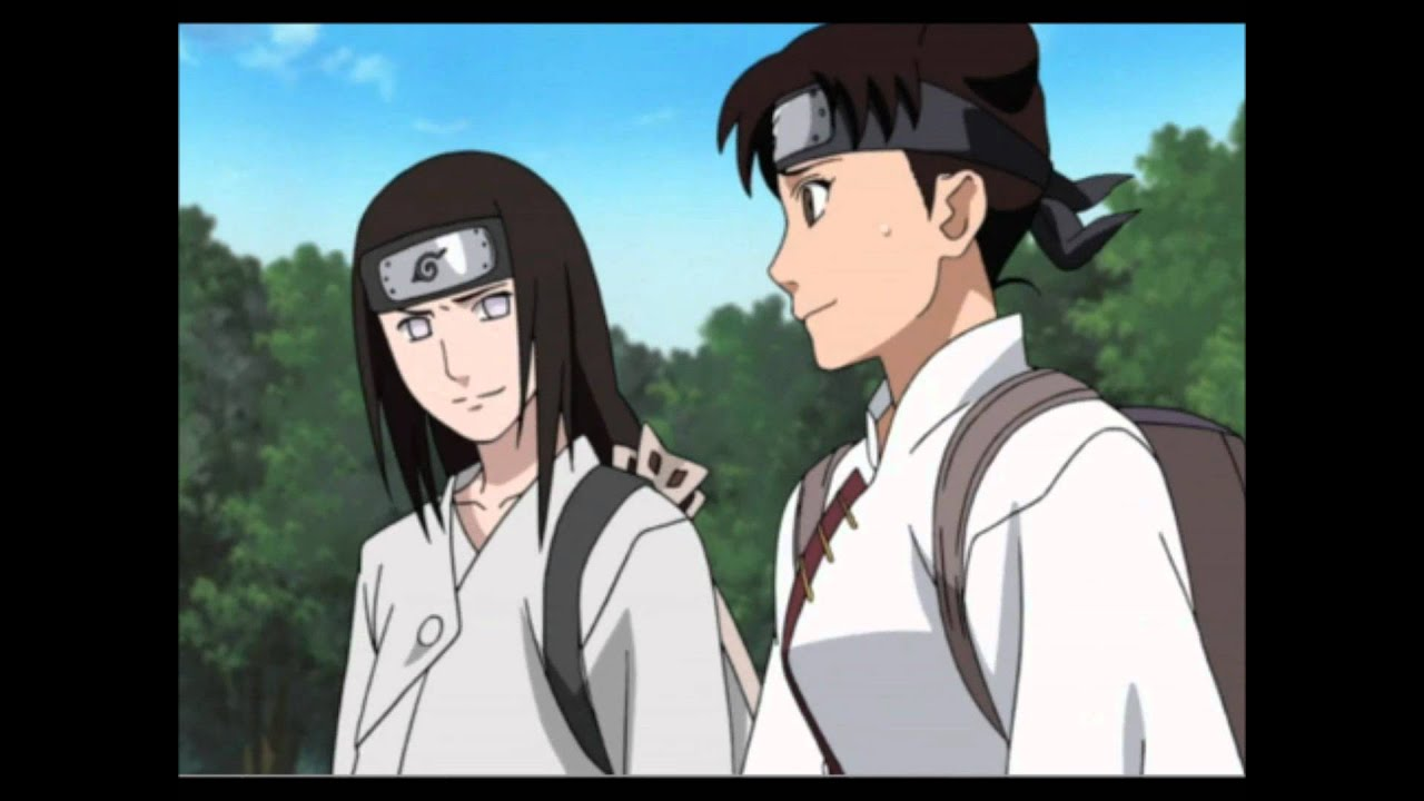 Neji and tenten shippuden