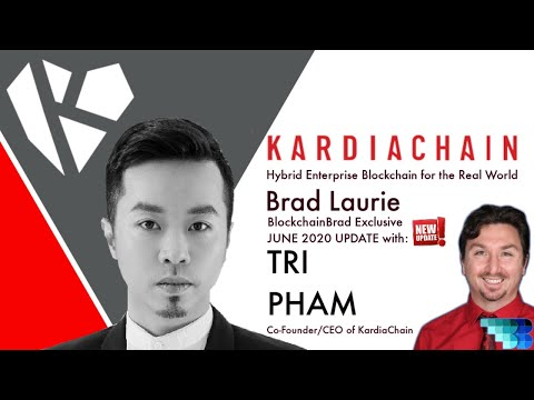 Kardiachain CEO | Crypto Update | BlockchainBrad | Hybrid Blockchain for Enterprise & Governments