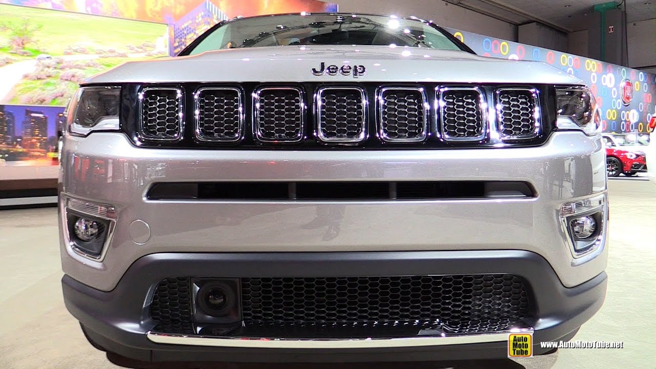 2017 Jeep Compass Limited Exterior And Interior Walkaround Debut At 2016 La Auto Show Youtube