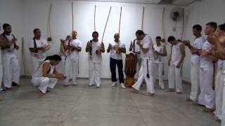 Roda com Mestre Cabeça e professores Grupo Candeias de Capoeira