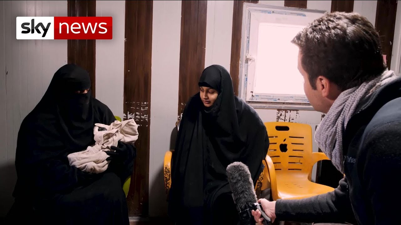 9a91f0856b1 Shamima Begum says people should have sympathy - YouTube