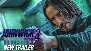 Смотреть John Wick: Chapter 3 - Parabellum (2019 Movie) New Trailer – Keanu Reeves, Halle Berry онлайн