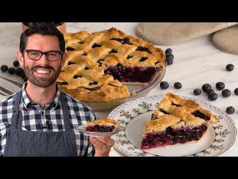 The BEST Blueberry Pie