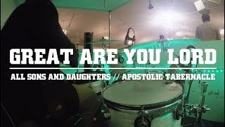 Great Are You Lord - DRUM COVER - All Sons and Daughters