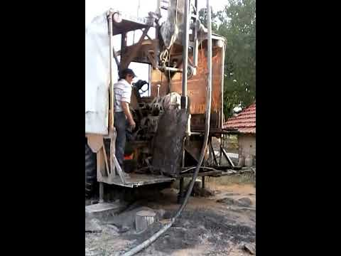 drilling for water