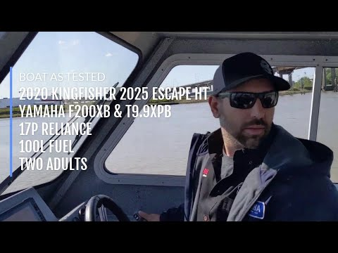 Kingfisher 2025 Escape HT Walkthrough And Seatrial