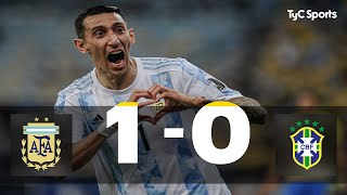Argentina 1-0 Brasil   Copa América 2021 Final