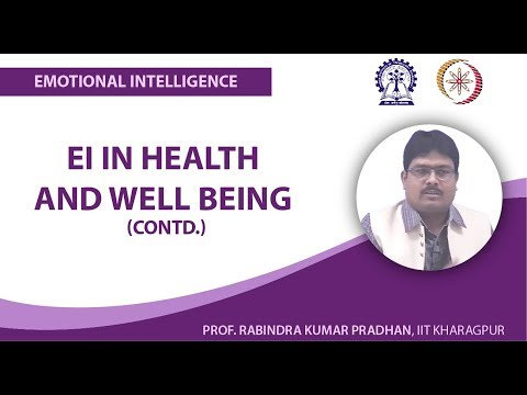 EI in Health and Well Being (Contd.)