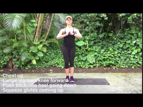 Alternating Lateral Lunges