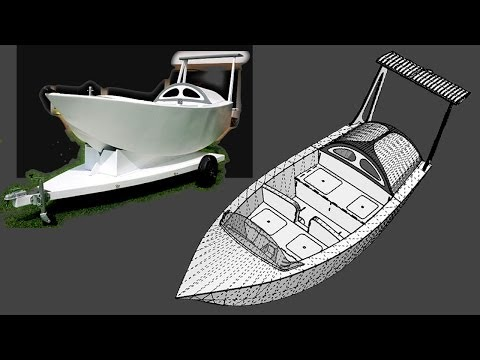 5 minutes to build a wooden boat : Free Plans