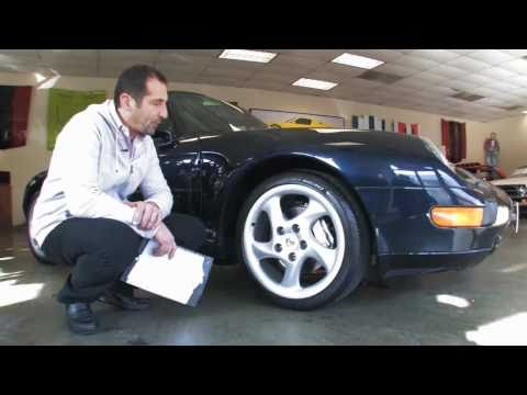 1996 Porsche 911 C4  for sale with test drive, driving sounds, and walk through video