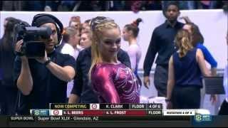 Kaitlyn Clark (Alabama) 2015 Floor vs Florida 9.9