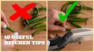 Gambar cover 10 AMAZING AND USEFUL KITCHEN TIPS AND TRICKS IN HINDI (Part 1) | 10 उपयोगी किचन टिप्स को ज़रूर देखे