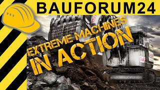 Extreme Machines in Action - XXL Excavators & Trucks - O&K RH 200 & RH 120 - Bauforum24 - [HD - EN]