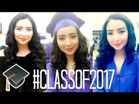 FORMAL/CAP & GOWN SENIOR PICS: Get ready with me!! - YouTube