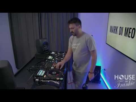 Mark Di Meo Dj set at House of Frankie HQ Milano