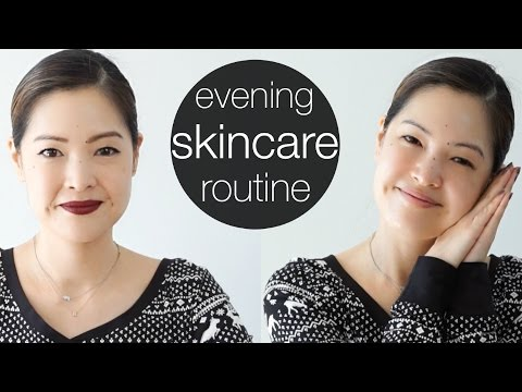 Evening Skincare Routine  - Winter Edition -