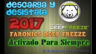 COMO DESCARGAR FARONICS DEEP FREEZE FULL +SERIAL X32 Y X64bits Y DESISTALARLO  /WINDOWS XP/7/8.1