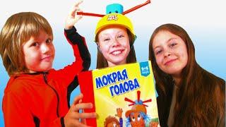 МОКРАЯ ГОЛОВА Челлендж| WET HEAD CHALLENGE 2019 | Канал для детей KidsBox Show