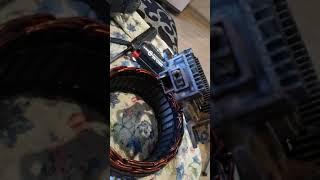 Ремонт генератора Митсубиши на форд транзит