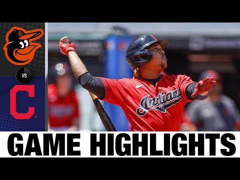 Orioles vs. Indians Game Highlights (6/17/21)   MLB Highlights