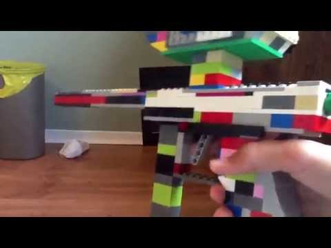 Lego Paintball Gun