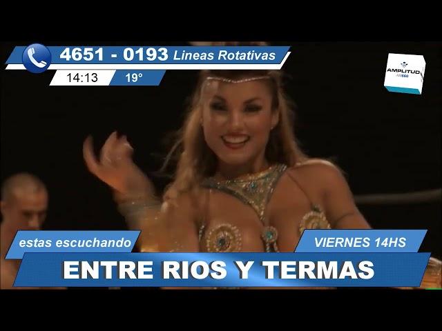 entre ríos y termas 24 5 19 el programa radial televisivo de turismo y cultura de Entre Ríos