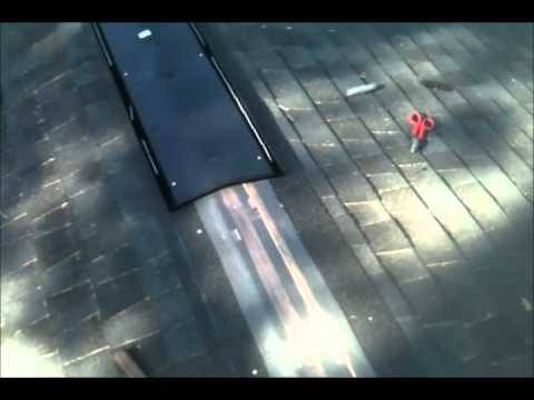 Roof Ridge Vent Installation Amp Capping Youtube