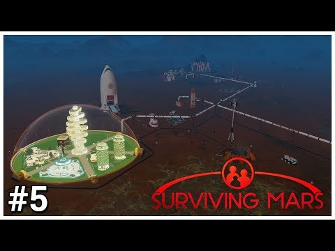 Surviving Mars - #5 - Long Pipe is Long - Let's Play / Gameplay / Construction