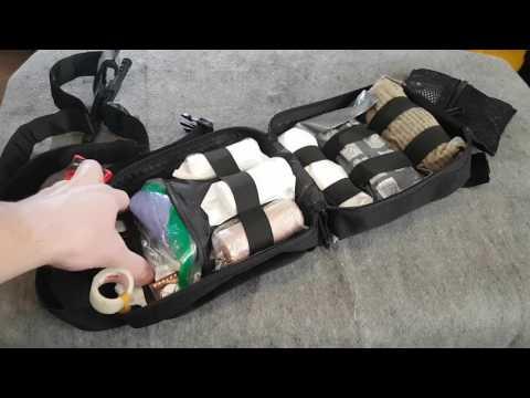 Vehicle Trauma First Aid Kit