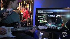 NAMM '11 - Squier Stratocaster & Rock Band 3 Controller Demo