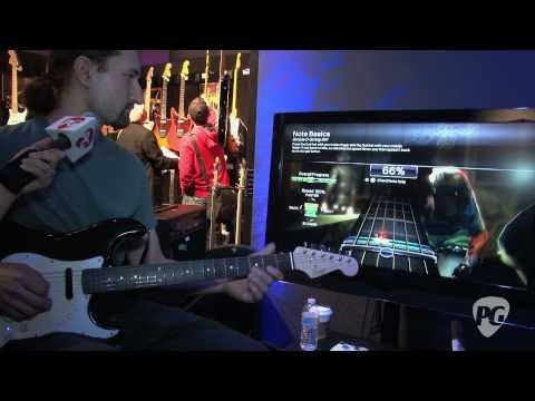 NAMM '11 - Squier Stratocaster & Rock Band 3 Controller Demo