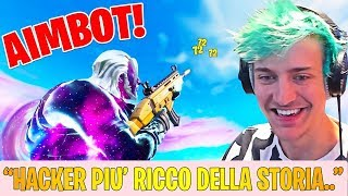 NINJA Killed by HACKER More RICCO than FORTNITE and THE OSSERVA Clip Twitch Live 2018