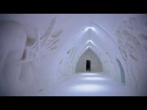 Arctic SnowHotel & Glass Igloos in Rovaniemi, Finnish Lapland