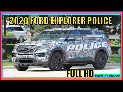 Ford Explorer 2020 Platinum - Police Interceptor Hybrid Review And Pictures