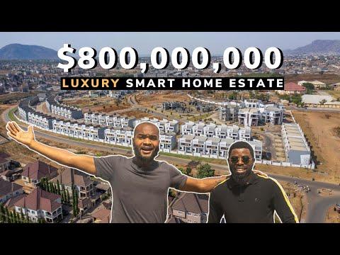 How a Nigerian built an $800,000,000 Luxury Estate in Abuja Nigeria.