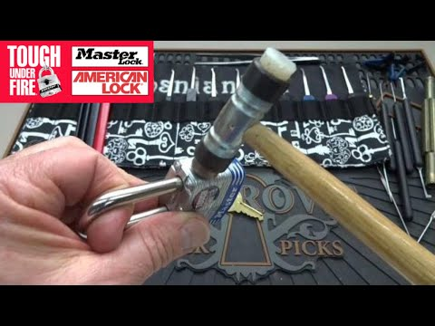 (728) Rapping on Master Lock for a FAST OPEN!