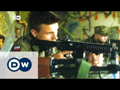 Surge in paramilitary activity in Poland | DW News